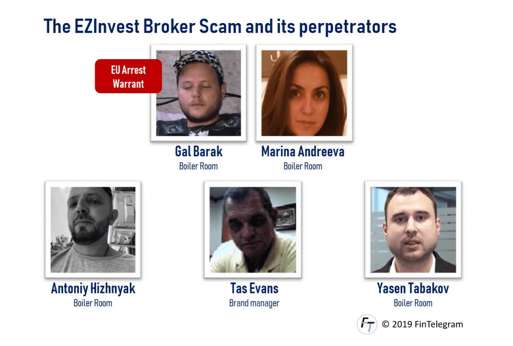 Broker scam EZInvest and its perpetrators
