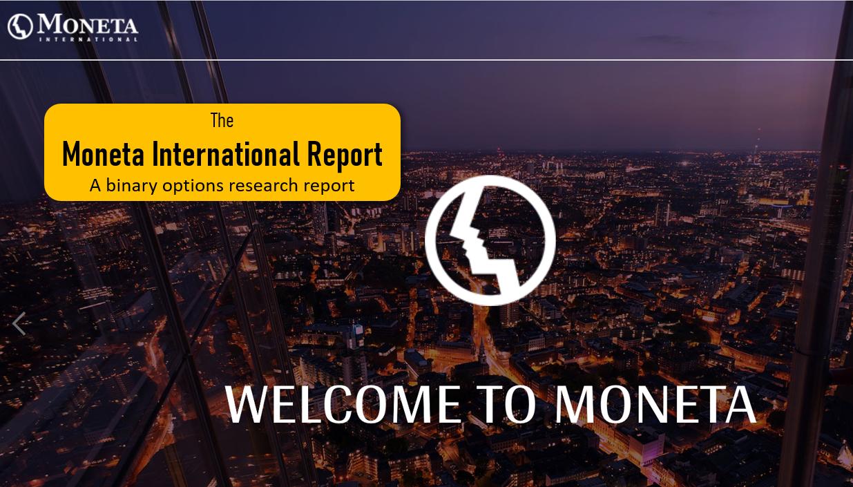 Moneta International Report