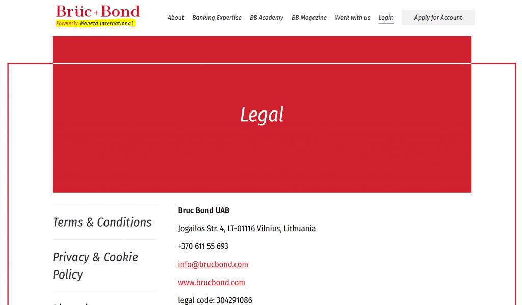 Moneta International renamed into Brü + Bond